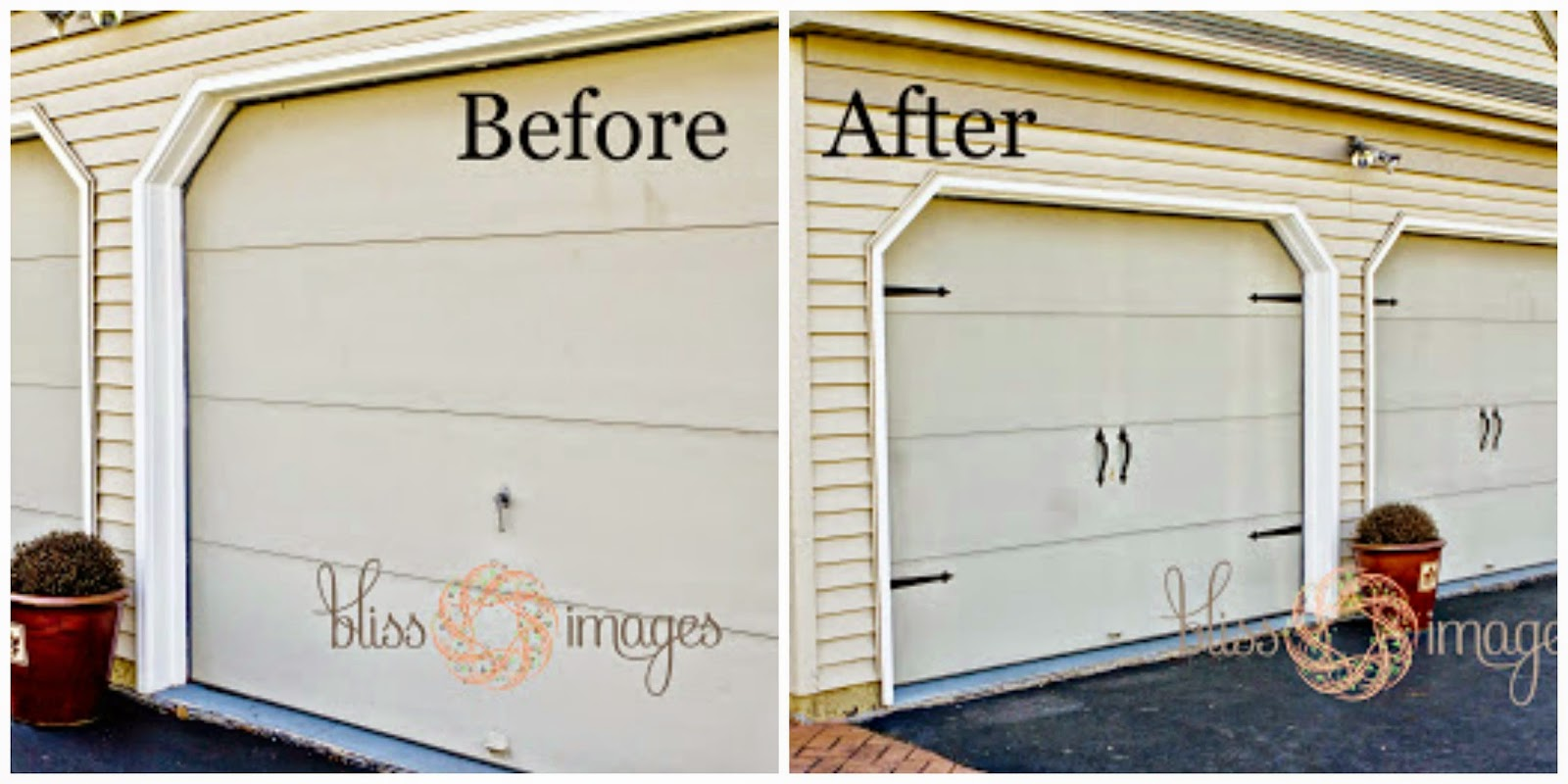 Home in cedar rapids quick inexpensive garage door update for Garage new s villejuif
