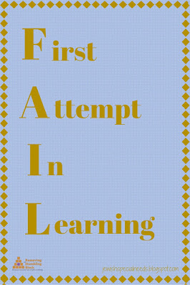 FAIL First Attempt in Learning; Removing the Stumbling Block
