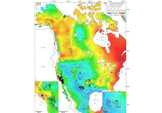 New Seismic Map of North America Reveals a Continent Under Tremendous Stress