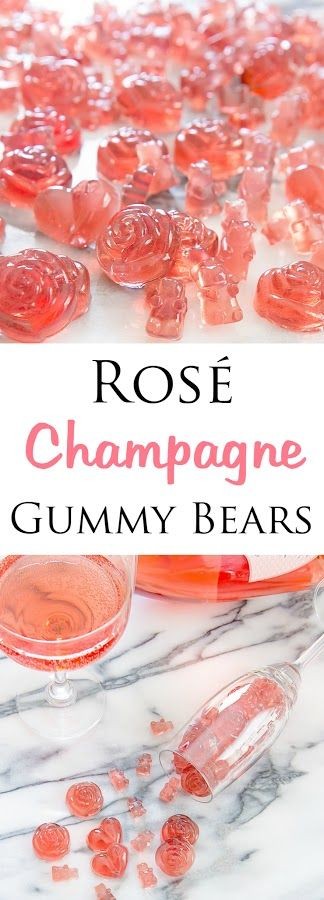 ROSÉ CHAMPAGNE GUMMY BEARS