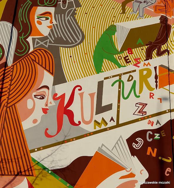 Narodowe Centrum Kultury Warszawa Warsaw Wola kamienica streetart warszawskie murale murals nck Katarzyna Bogucka