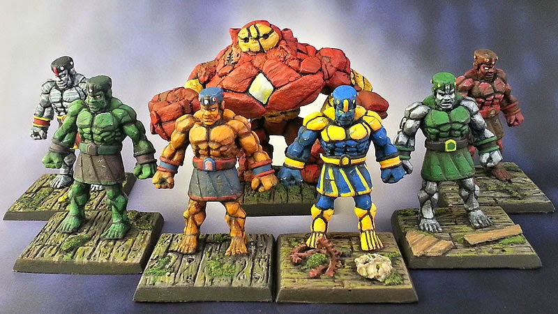 Show Off: Marvel Golem Team Up Project Wrap Up