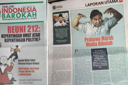 RESMI! BPN Prabowo-Sandi Lapokan Pimpinan Tabloid Indonesia Barokah Ke Bareskrim