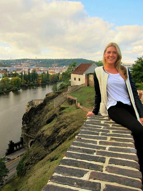 Vysehrad slott i Prag