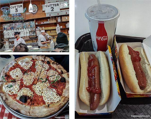 Opções gastronômicas em Nova York