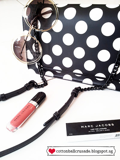 Marc Jacobs - Lust for Lacquer Full Coverage Lip Vinyl 202 Paint It Review