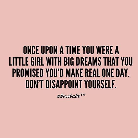 Big Dreams Quote