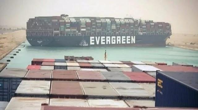 El buque que bloqueaba el Canal de Suez fue totalmente liberado