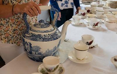 Huge china teapot