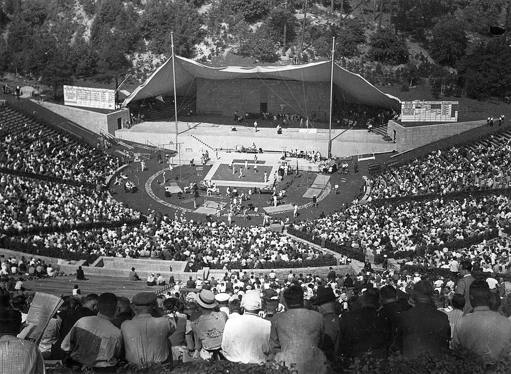 1936 Summer Olympics at the Berlin Waldbühne