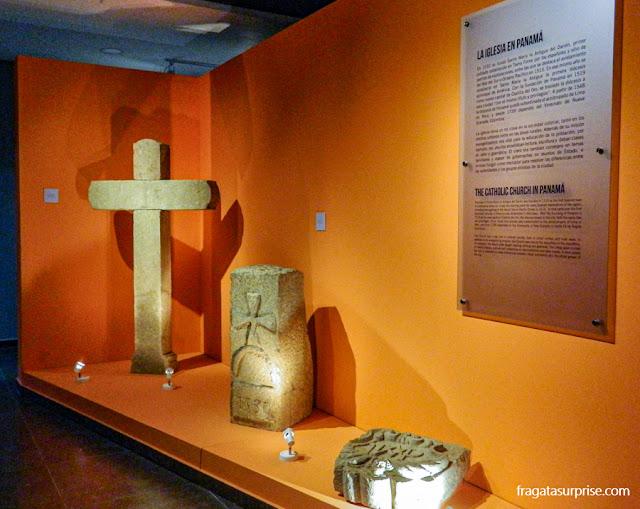 Museu da Plaza Mayor, nas ruínas de Panamá Viejo