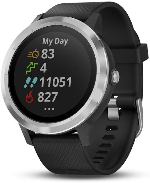 Garmin Vívoactive 3, GPS Smartwatch with Contactless Payments and Built-In Sports APPS