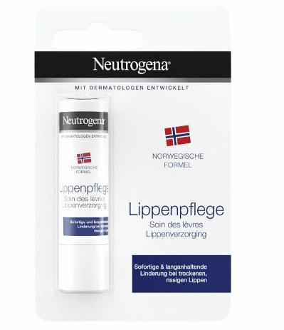 Balsam pentru buze uscate si crapate Neutrogena SPF 4, 4.8 g