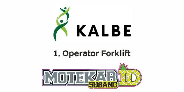Lowongan Kerja PT Kalbe Farma Mfg Maret 2021 - Motekar Subang