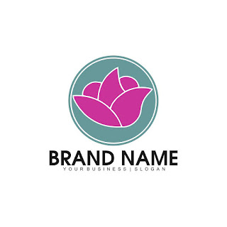 Business Flower Logo Template Free Download Vector CDR, AI, EPS and PNG Formats
