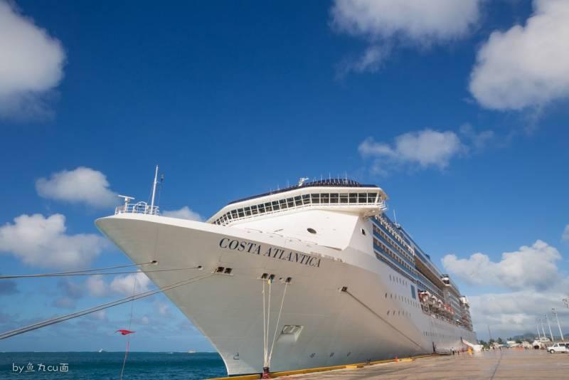 Costa Atlantica completa cruzeiro de 46 dias para as Ilhas do Pacífico Sul a  partir de China 09ac4f3c4e527