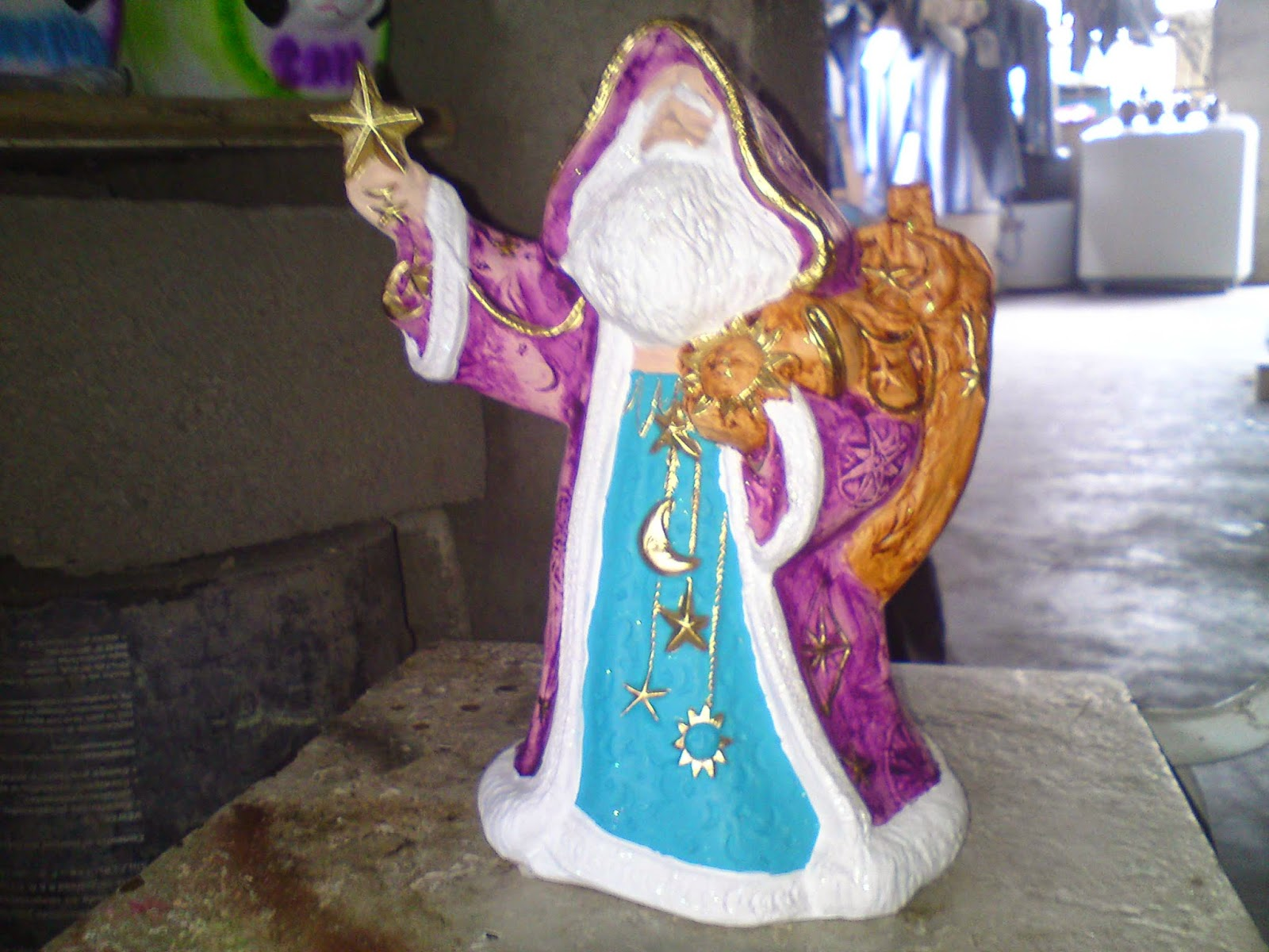Imagenes del espiritu de la navidad en ceramica for Bizcochos de ceramica