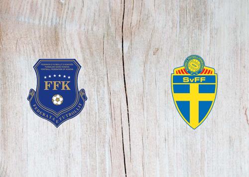 Kosovo vs Sweden -Highlights 28 March 2021