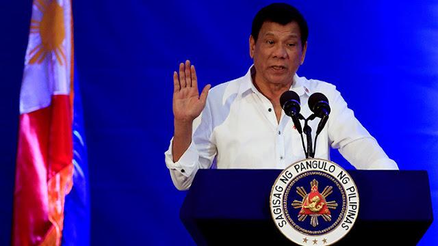 El presidente filipino Duterte lanza una seria amenaza a los militantes del Estado Islámico