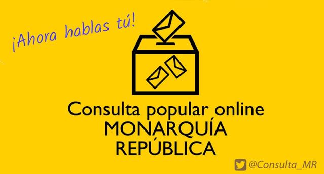 Consulta Popular Online Monarquía-República