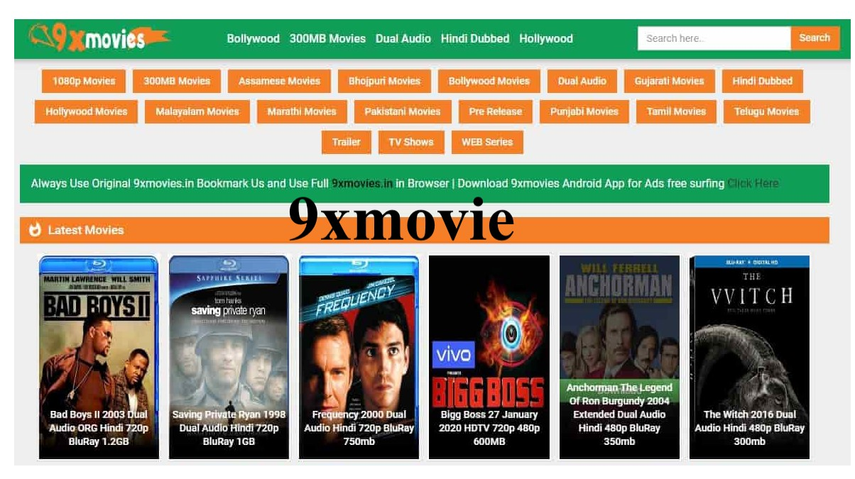 9xmovies 2021 Bollywood Movies Download