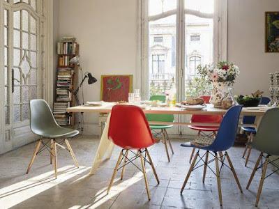 Ghế Eames cho các quán cafe, nhà hàng hiện đại 3