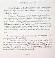 Pisarskie delicje - przypis o blogu CzytamPoPolsku.pl Małgorzaty Poniatowskiej