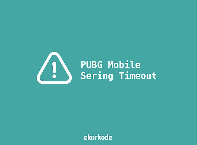 pubgm server time out