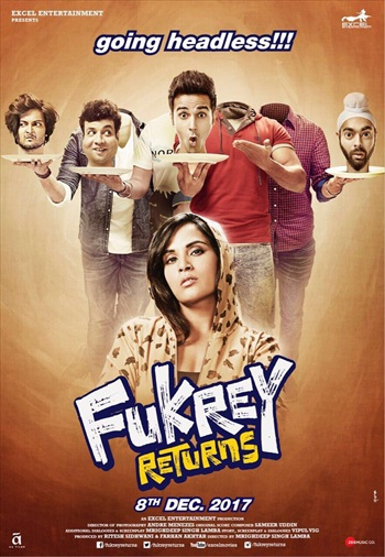 Fukrey Returns 2017 Hindi 720p HDTV 999mb
