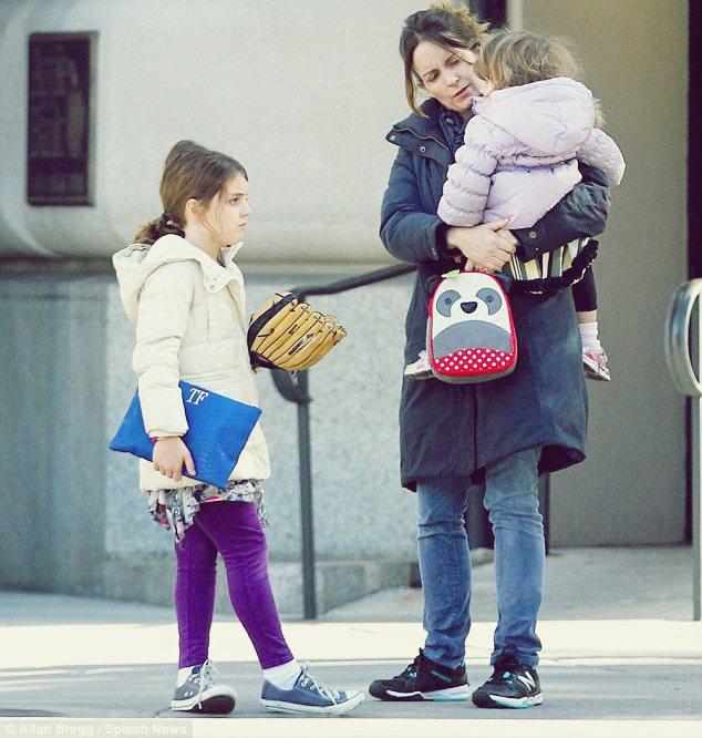 5 Celebrity Moms That Deserve A Pat on the Back Tina Fey