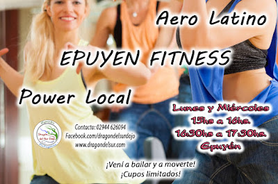 Aerolatino Aerobic Epuyen Fitness Gimnasia Mujeres
