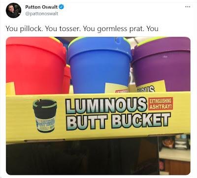Patton Oswalt Luminous Butt Bucket tweet