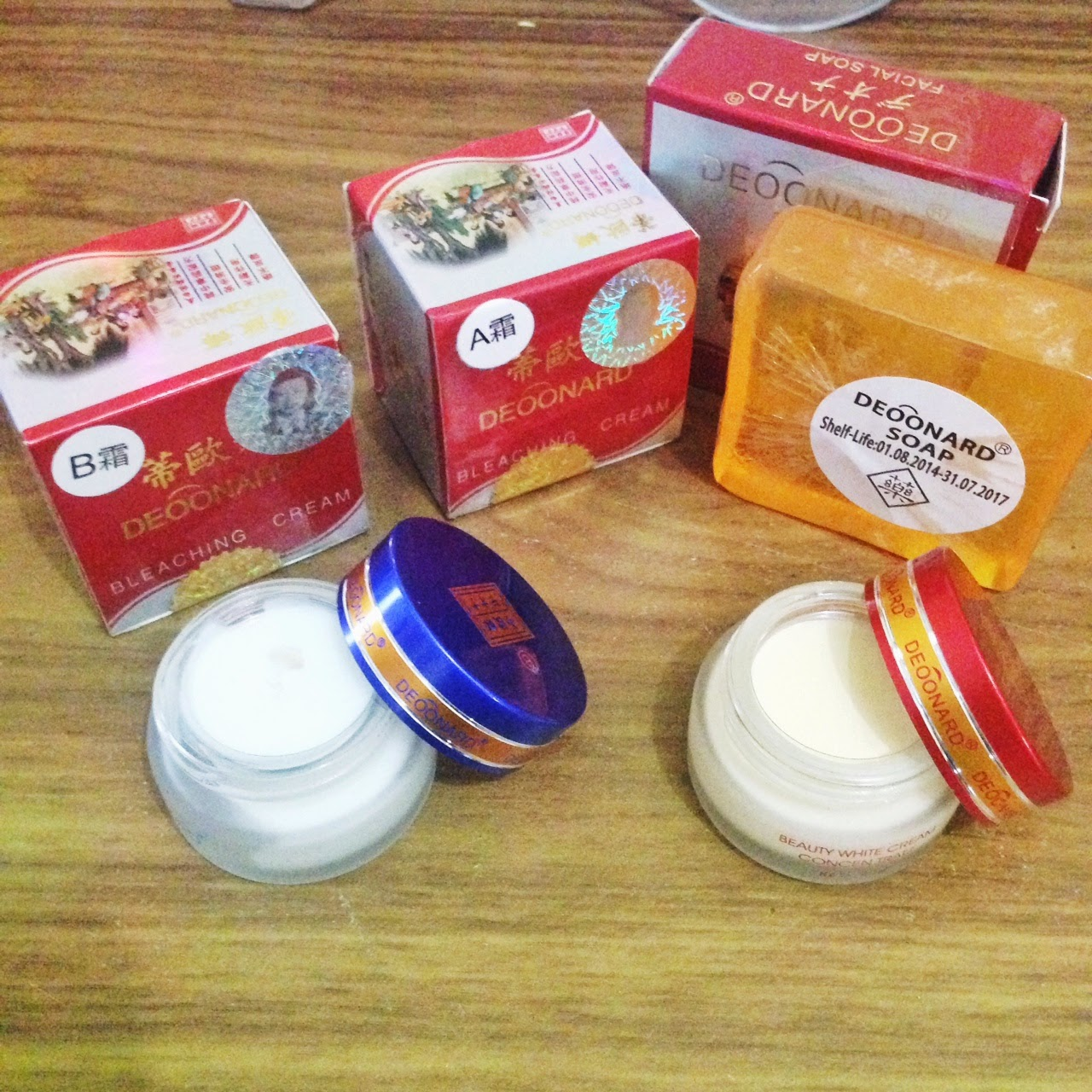 Paket Cream Deoonard Red BIG