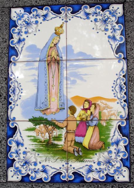 Notre-Dame de Fatima azulejos portugal villeray Montréal