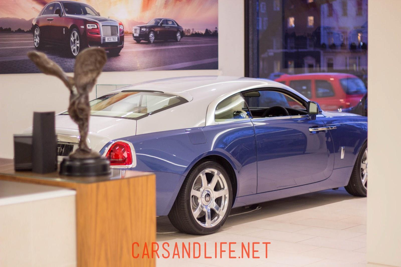 Rolls-Royce Wraith via Canon 50mm f 1.8 Lens
