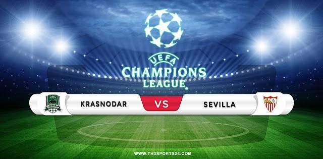 Krasnodar vs Sevilla Prediction & Match Preview