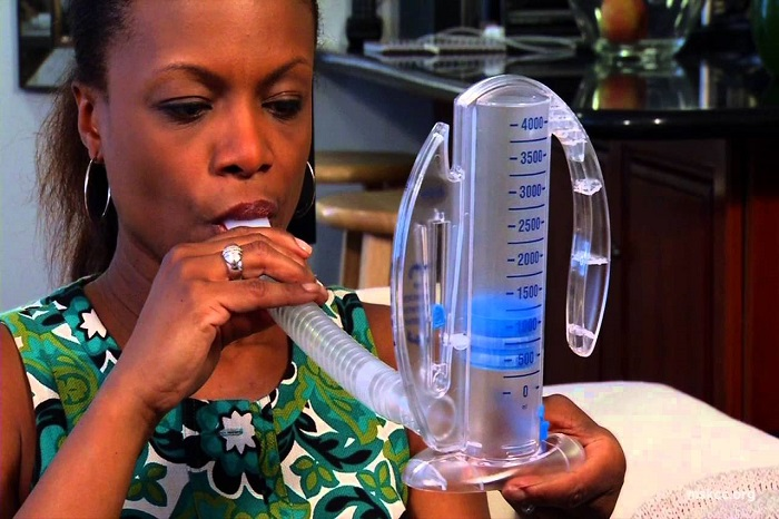 how to use an incentive spirometer handout