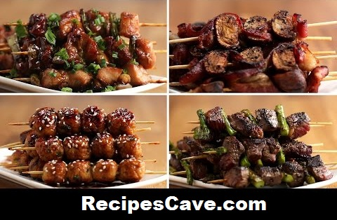 Japanese Grilled Skewers Recipe