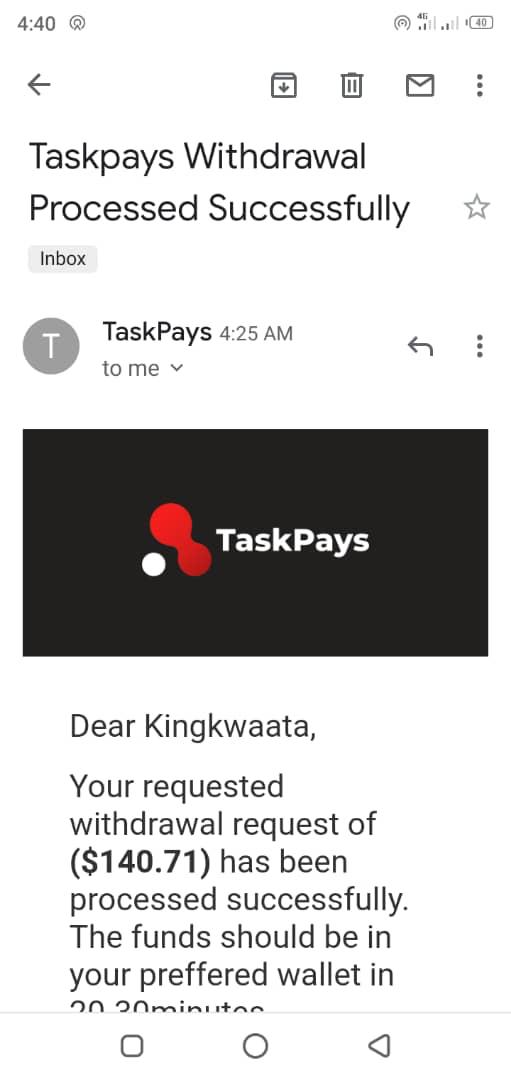 Earn Money Online by Watching Videos With Taskpay 2021