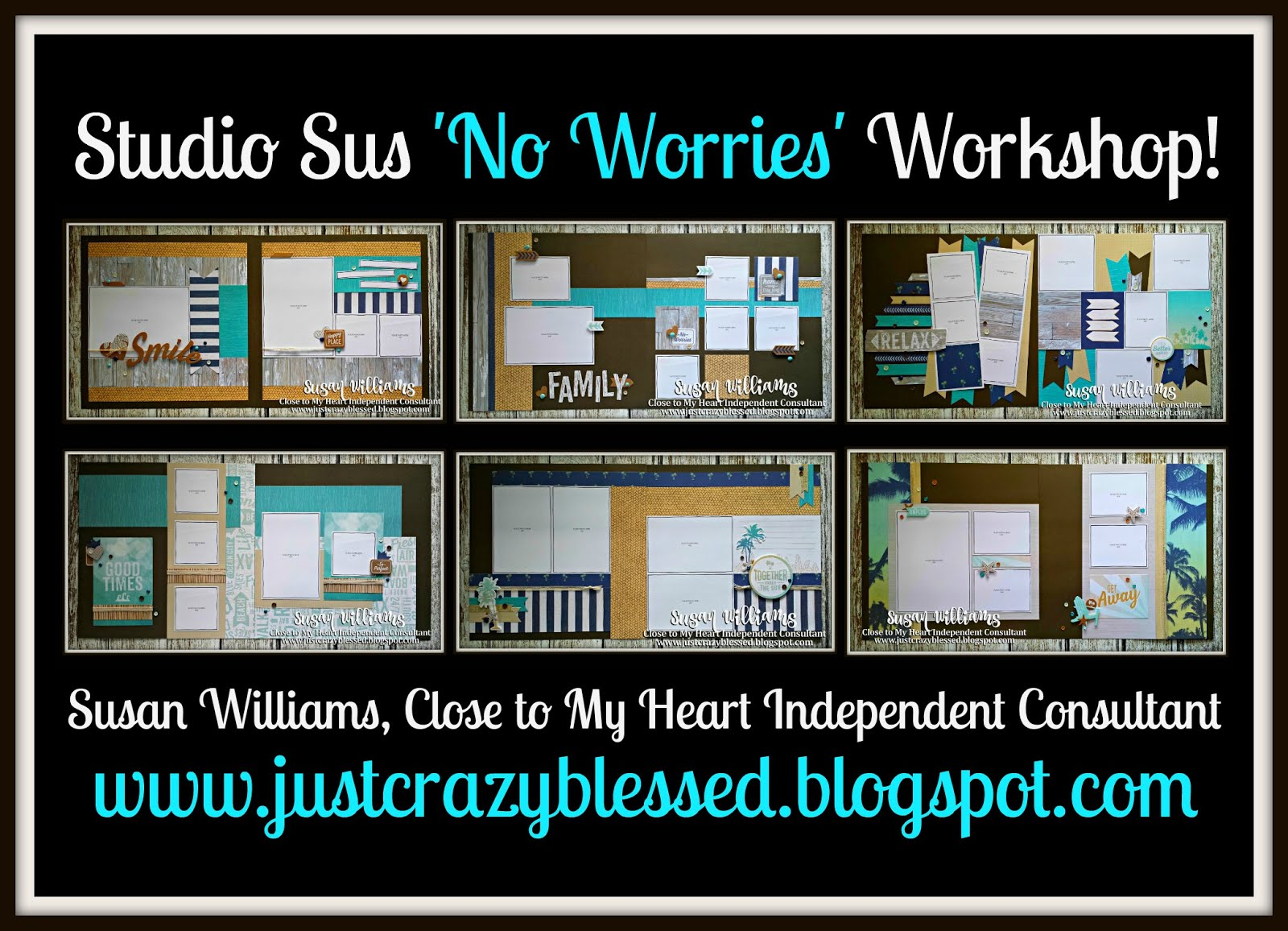 'No Worries' Scrapbooking Workshop!