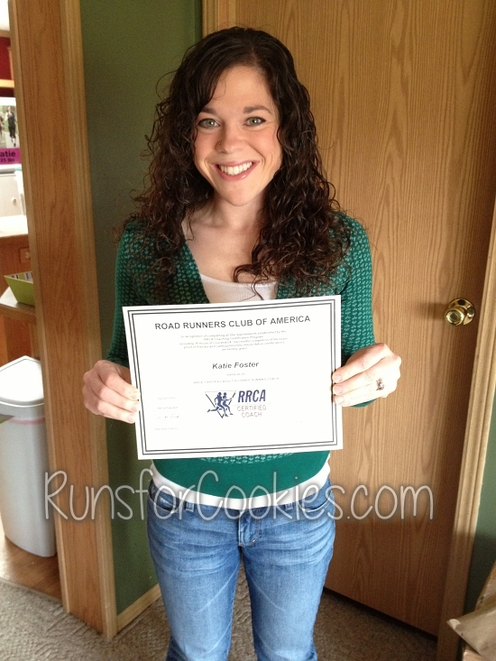 RRCA certificate