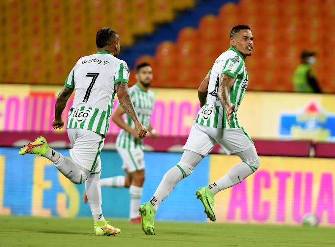 Nuevo 'baile' verde: Atlético Nacional le repitió la dosis a Patriotas y prácticamente sentenció su paso a los 'cuartos' de la Copa BetPlay 2021