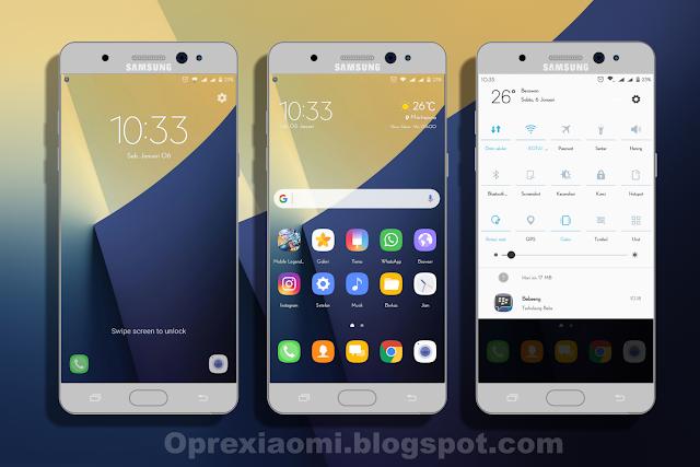 Tema Samsung Galaxy Note 7 Mtz