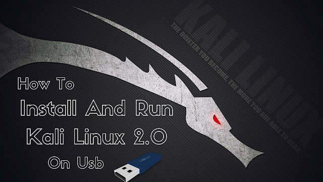 How To Make A Bootable Kali Linux USB With Persistence 1
