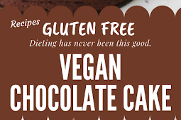 Vegan chocolate cake: Gluten free and sugar free! #glutenfree