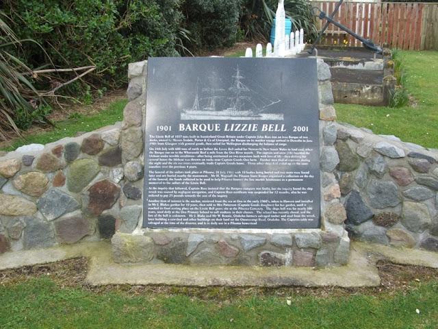 Barque Lizzie Bell shipwreck