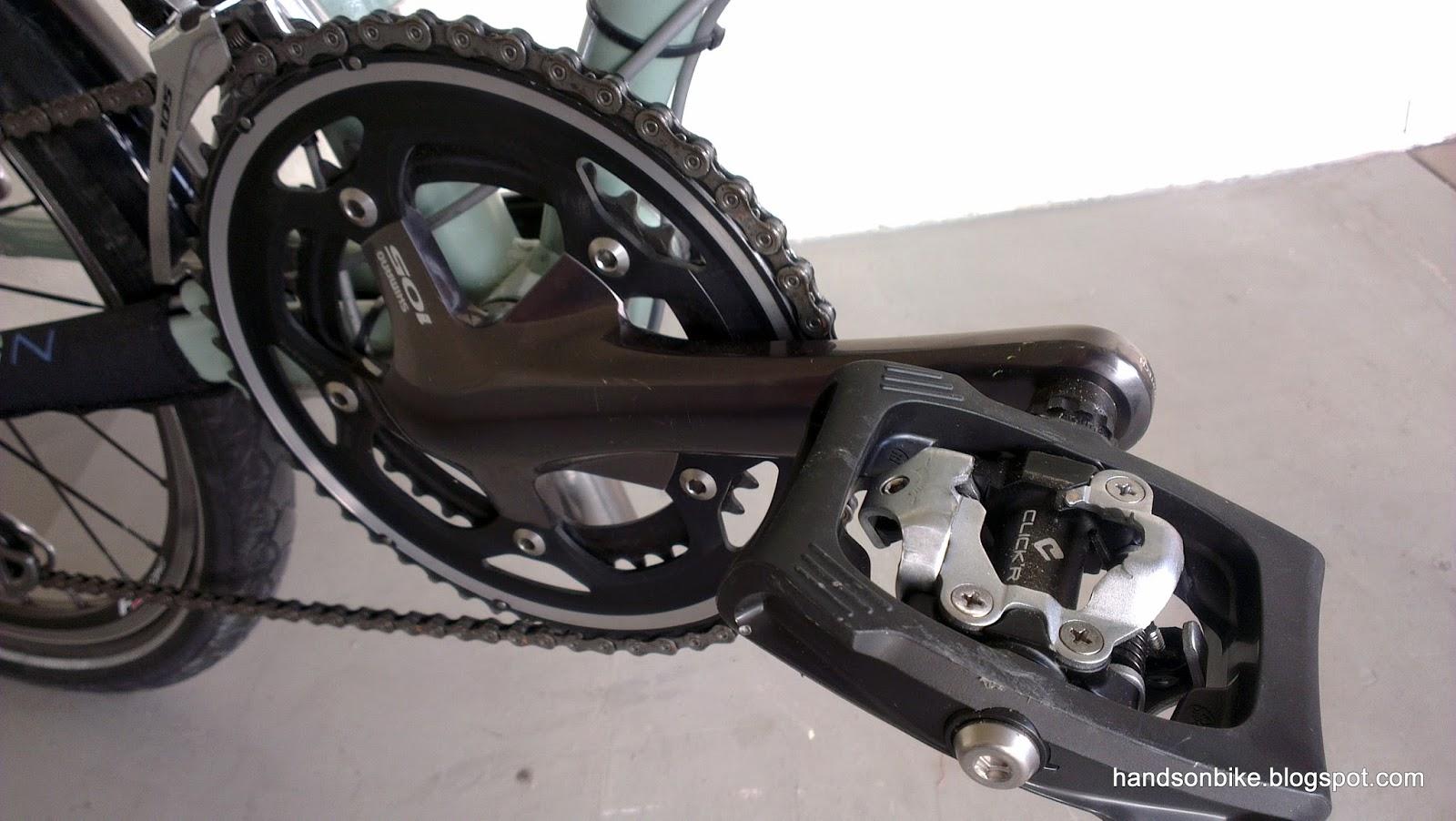 Shimano PD-T400 CLICK /'R SPD vélo de Route Cyclisme Cycle Touring Pédales