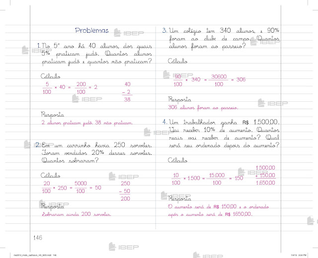 CADERNO DO FUTURO 5 ANO MATEMÁTICA ENSINO FUNDAMENTAL