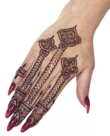 Festival Special Mehndi Design for Back hand