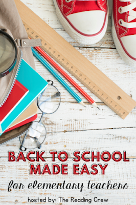 """Let me help you make your preparation for Back to School easy for you. I've included a FREE All About Me activity with a """"Bright Beginning"""" theme. Plus, you can learn more about my Bundled Resource filled with activities for you and your upper elementary students."""